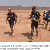 Duncan Slater, The Marathon des Sables 2017